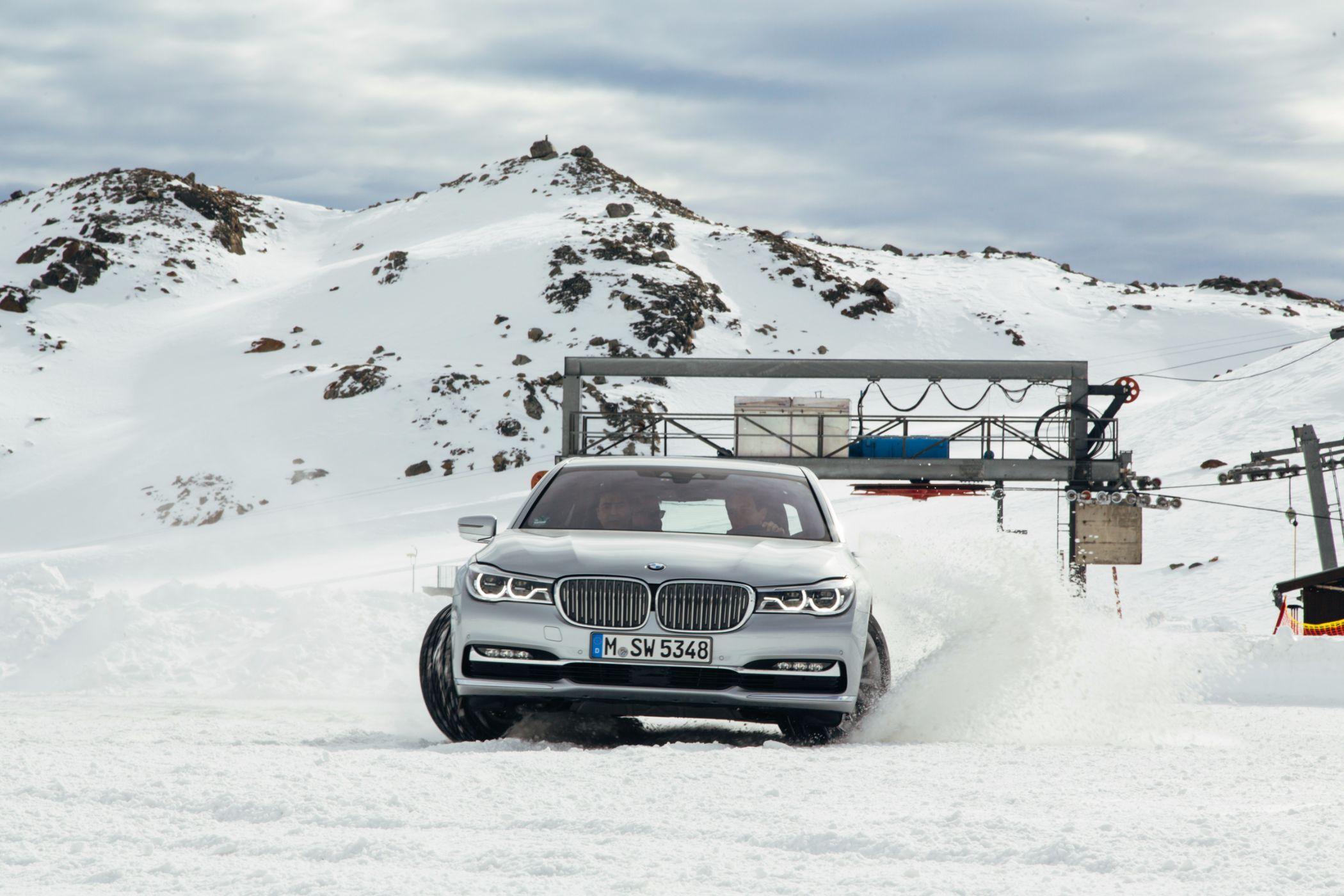 BMW Driving Experience in Sölden