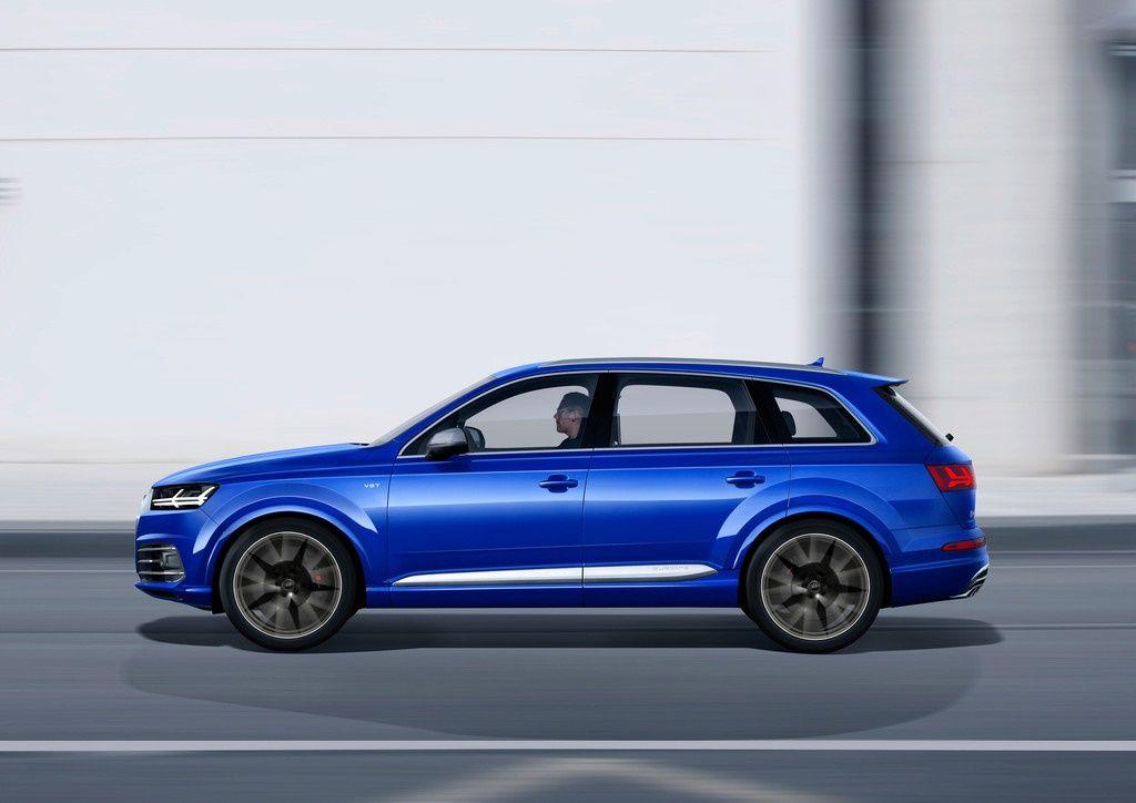 Audi SQ7 TDI Seitenansicht