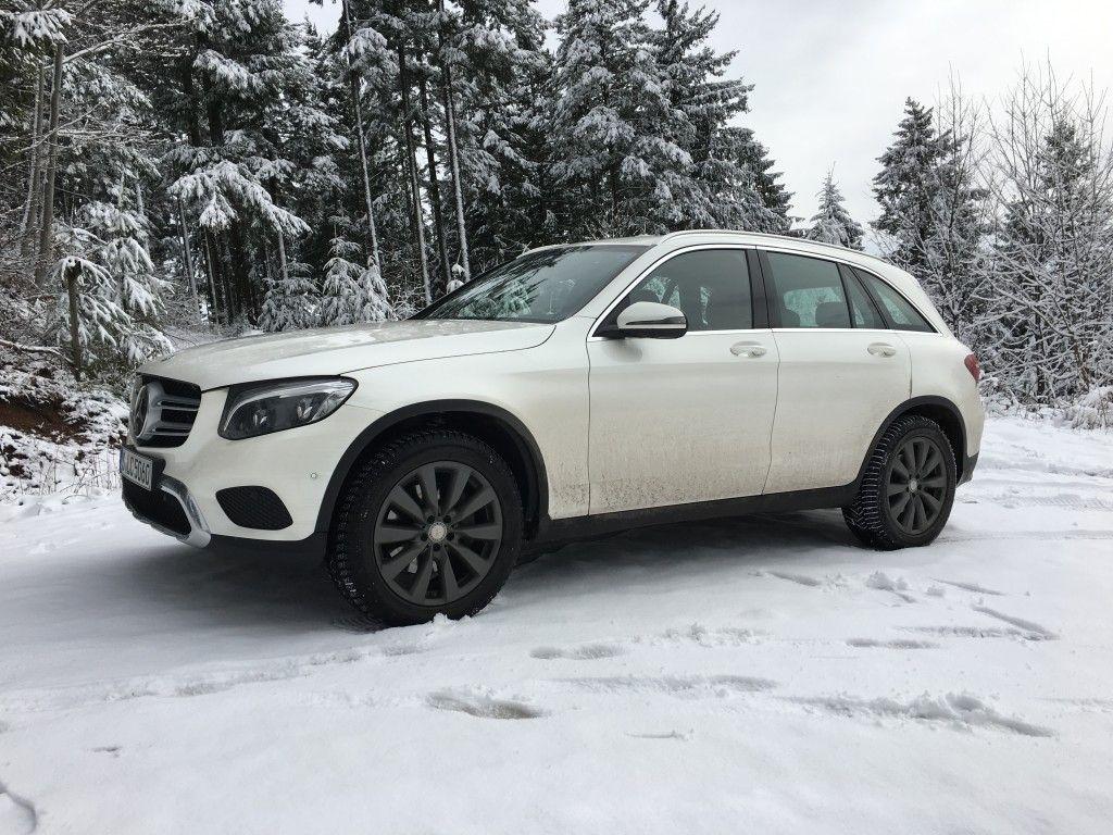 Mercedes GLC Seitenansicht