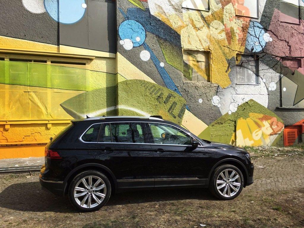 VW Tiguan Seitenansicht 2016