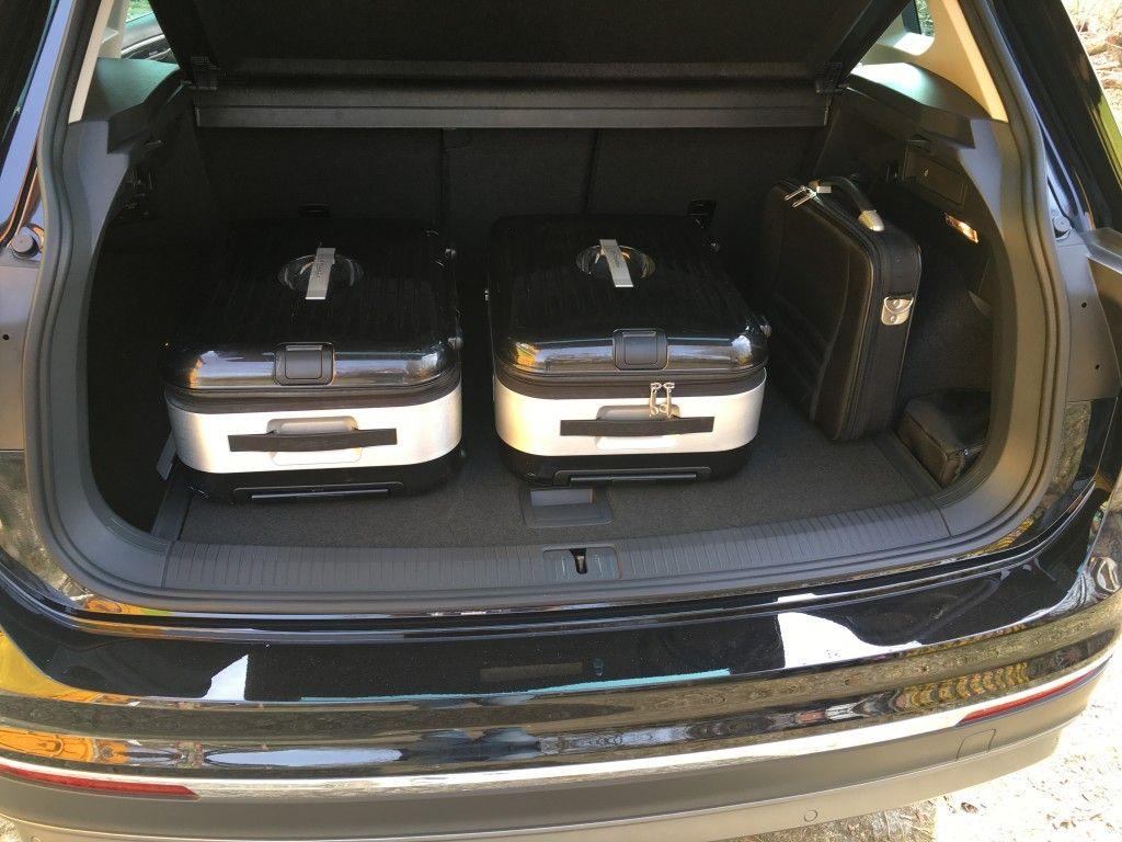 VW Tiguan 2016 Kofferraum