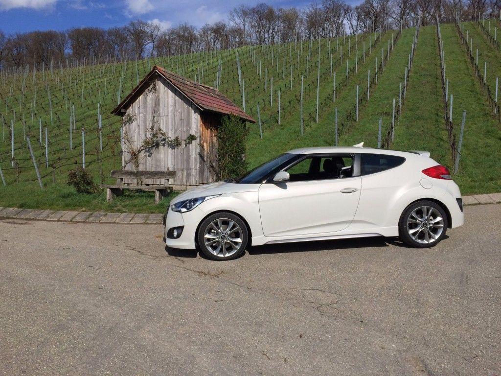 Hyundai Veloster Seitenansicht Fahrerseite