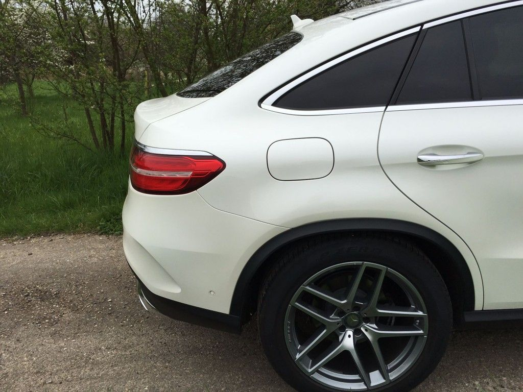 Mercedes GLE Coupé Hinterrad