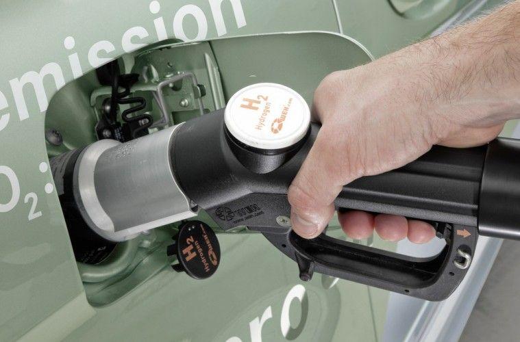 Betankung von Wasserstoff