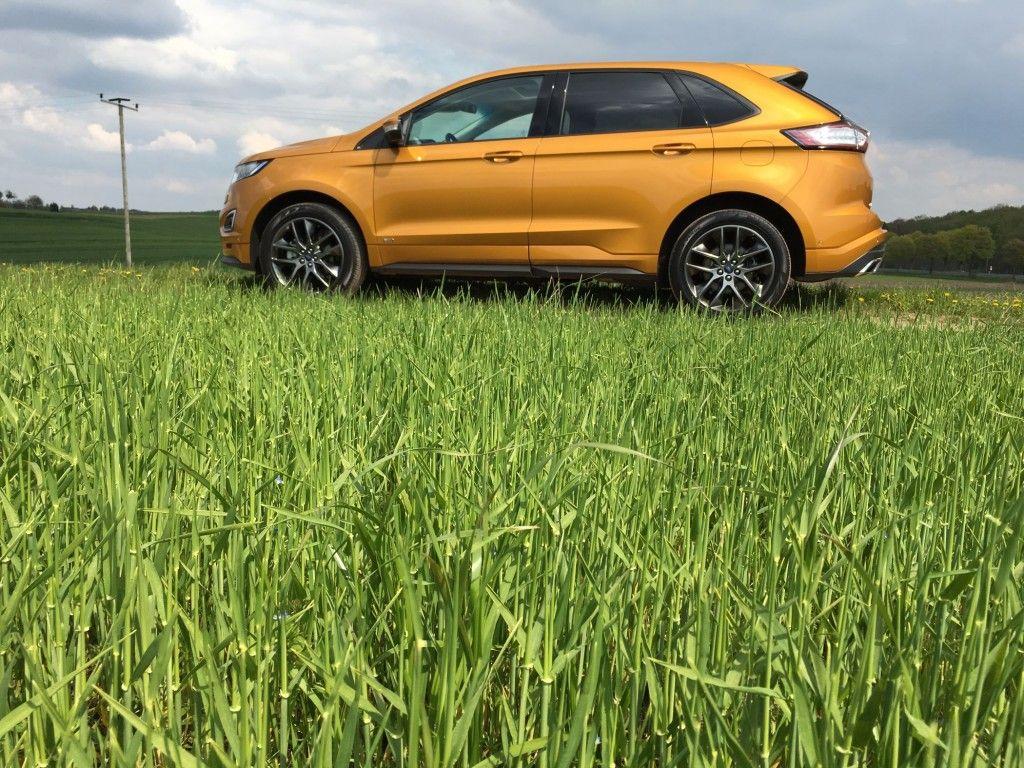Ford Edge Seitenansicht 2016