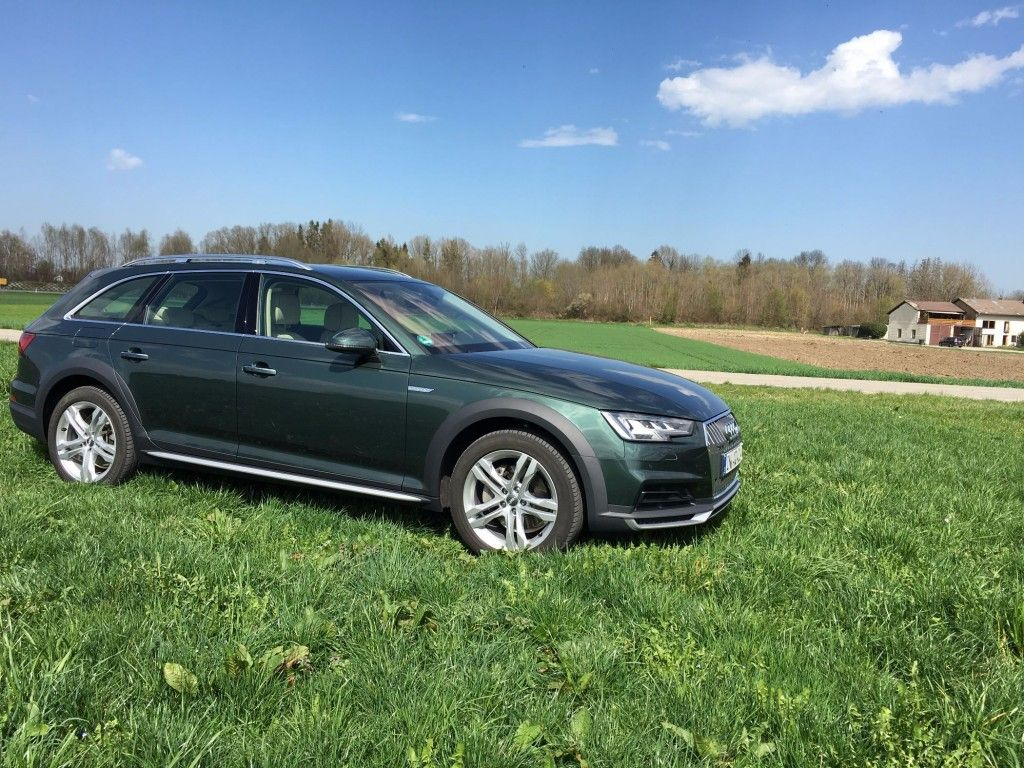 Audi A4 Allroad Seitenansicht
