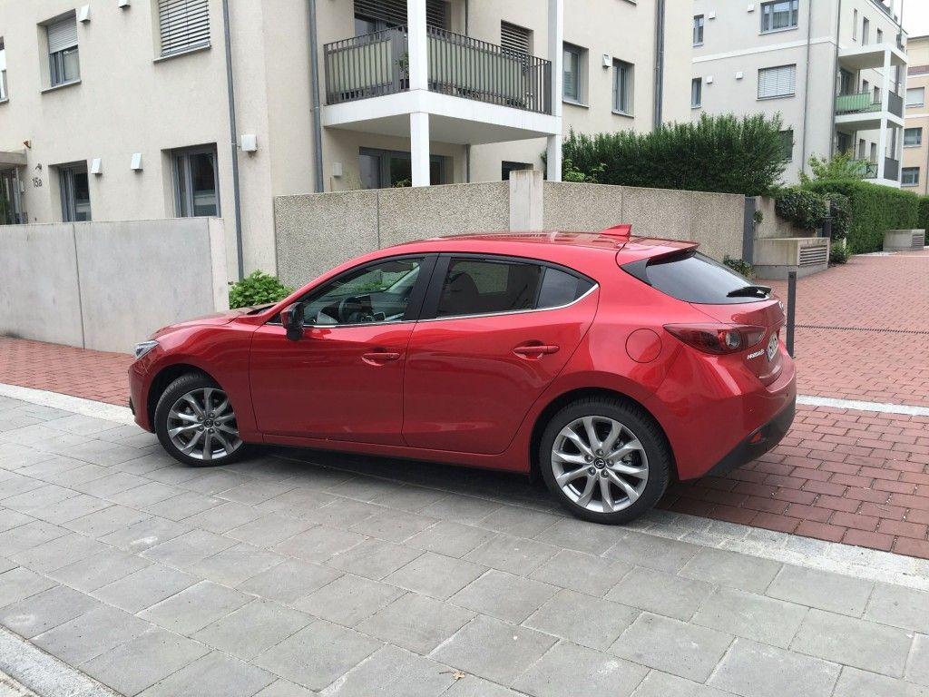 Mazda3 Seitenansicht 2016