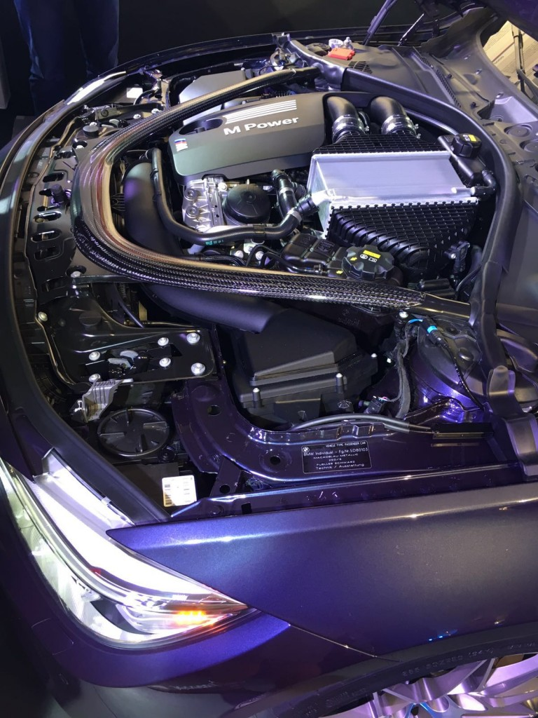 """Sonderedition BMW M3 """"30 Jahre M3"""" Motor"""