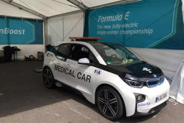 Medical Car; BMW i3,  Formel E Qualcomm 2016