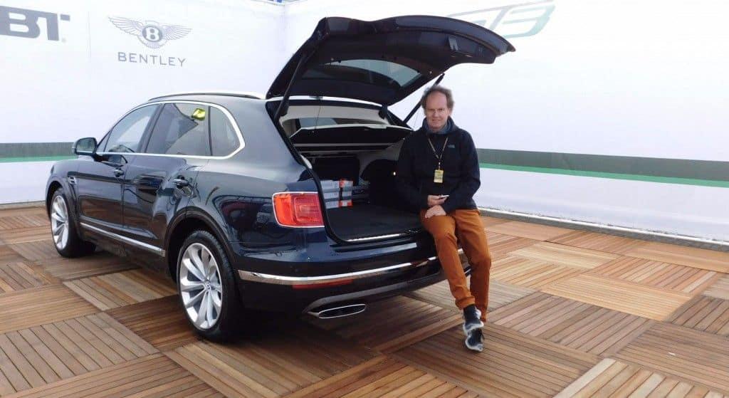 Bentley Bentayga Kofferraum