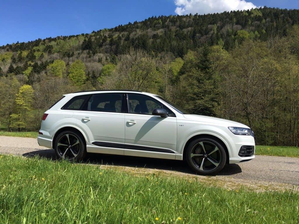 Audi SQ7 Seitenansicht