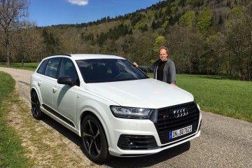 Audi SQ7 und Friedbert Weizenecker www.der-autotester.de