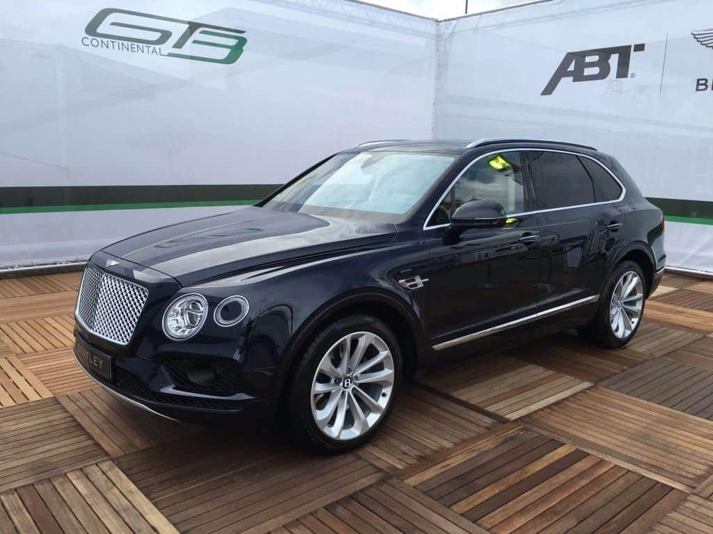 Bentley Bentayga Seitenansicht