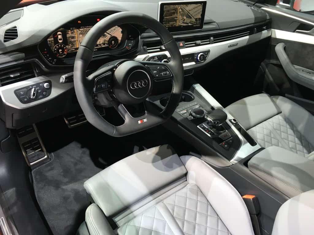 Audi A5 Cockpit 2017