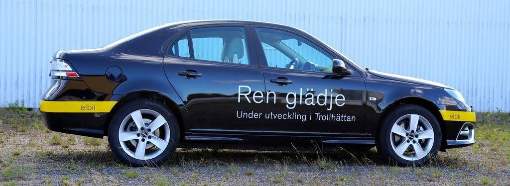 Saab 9-3 Electric Vehicle Prototyp