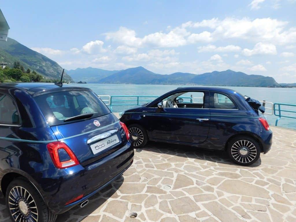 Fiat 500 Riva Cabrio und Limousine