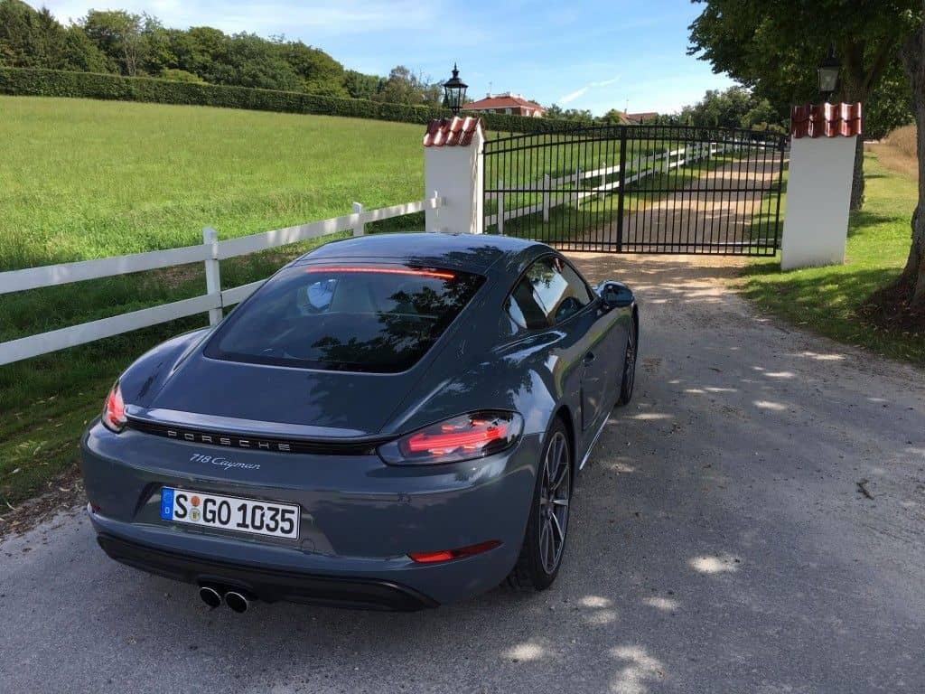 Porsche Cayman Heck