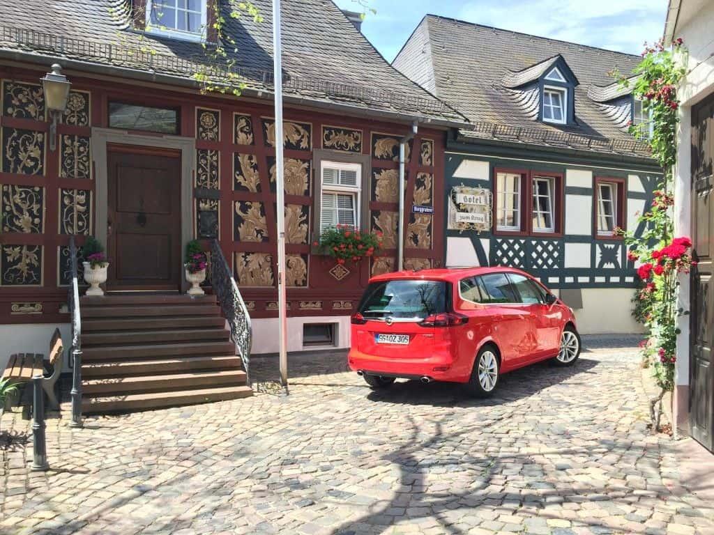 Opel Zafira Heck