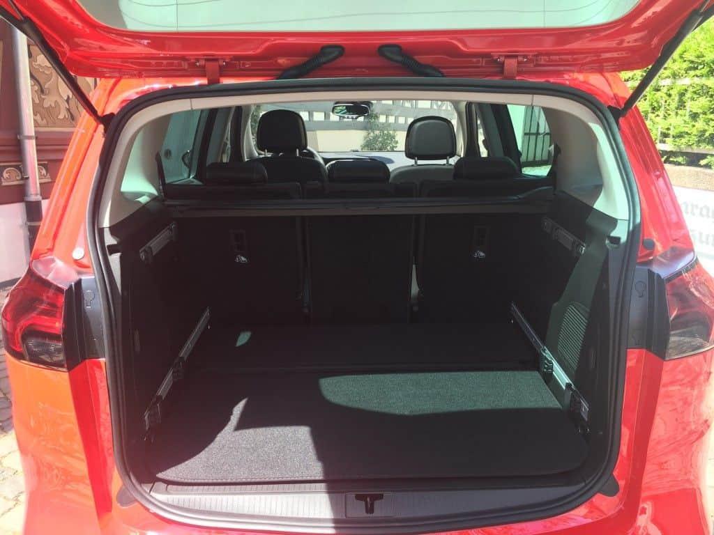 Opel Zafira Kofferraum