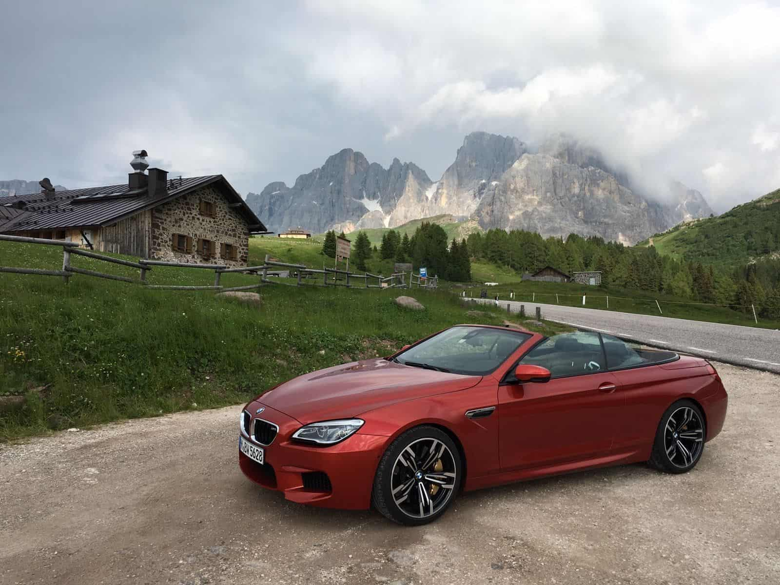 mit dem bmw m6 durch die dolomiten der. Black Bedroom Furniture Sets. Home Design Ideas