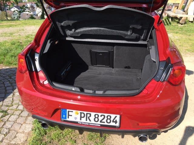Alfa Romeo Giulietta Kofferraum