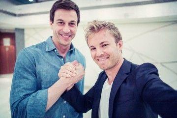 Nico Rosberg, Toto Wolf, MERCEDES AMG PETRONAS, F1 ;Nico Rosberg, Toto Wolf, MERCEDES AMG PETRONAS, F1;