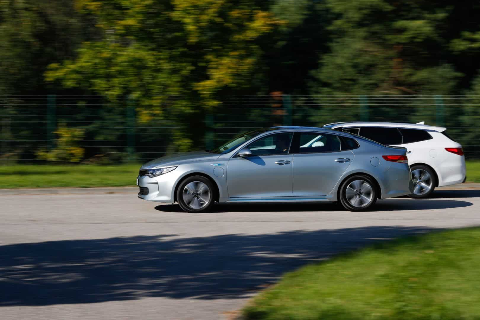 Kia Optima PHEV und Kia Optima Sportswagon