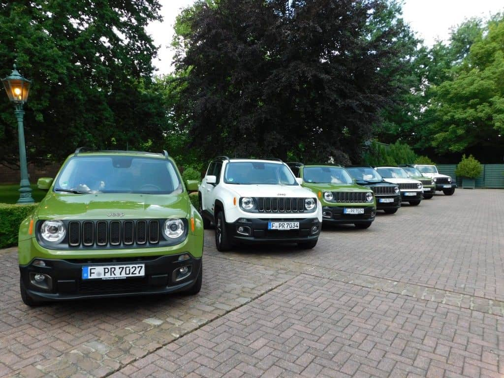 Jeep 75 Jahre Editionsmodelle