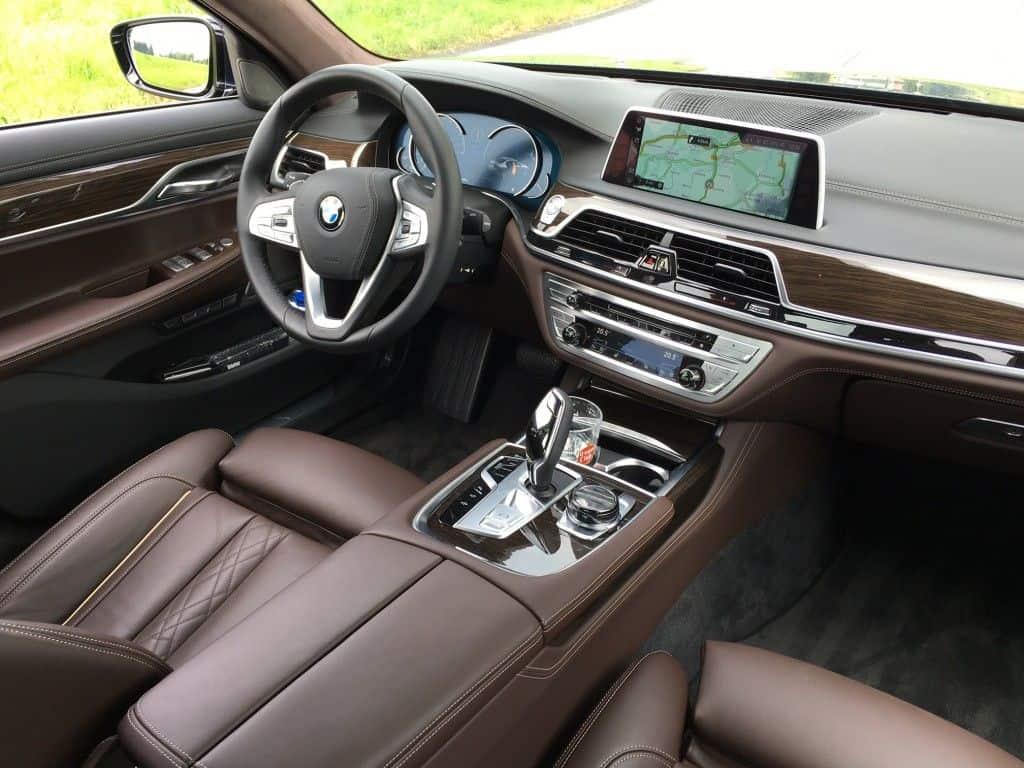 BMW 730 Diesel Innenraum