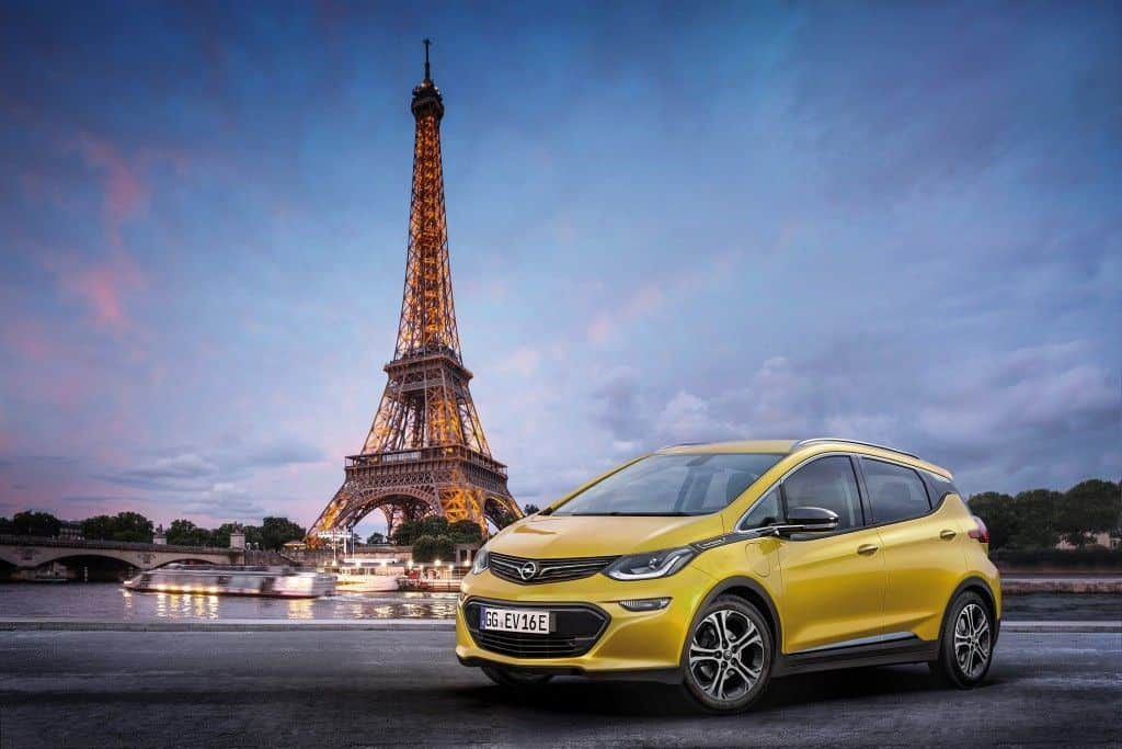 Opel Ampera-e World Premiere in Paris