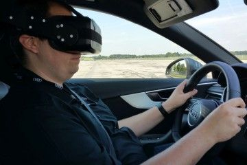 Audi Virtual Reality Training Car