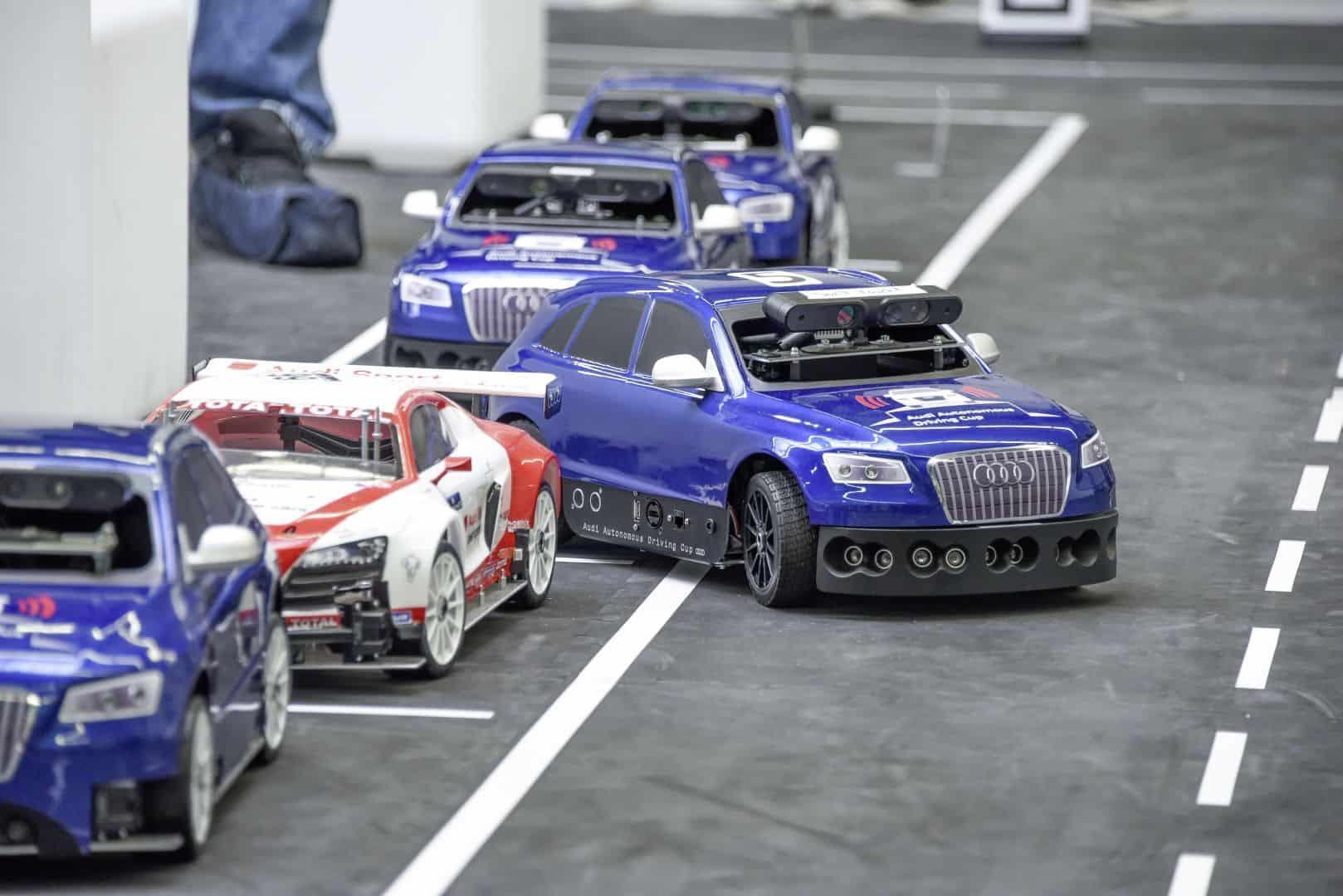 AADC - Audi Autonomous Driving Cup 2016