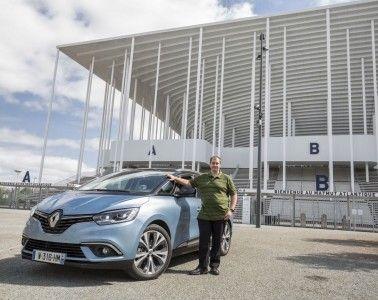 Renault Grand Scenic Stadion Bordeaux