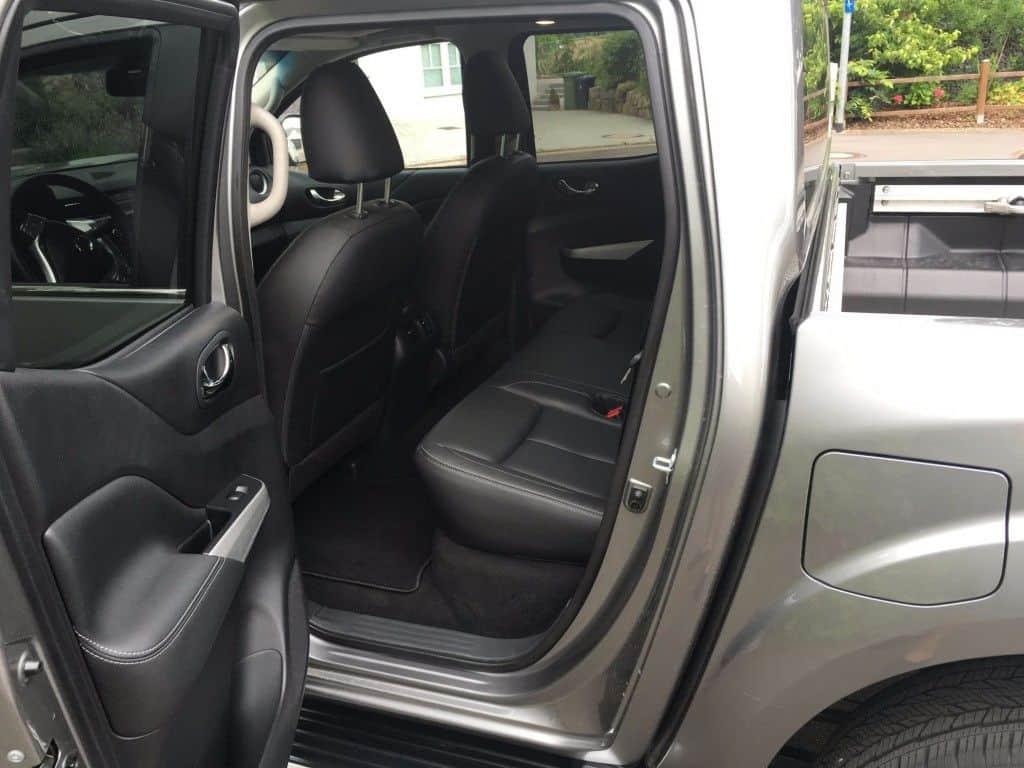 Nissan Navara 2. Sitzreihe