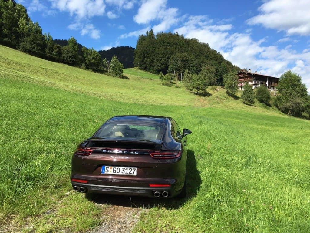 Porsche Panamera Heck