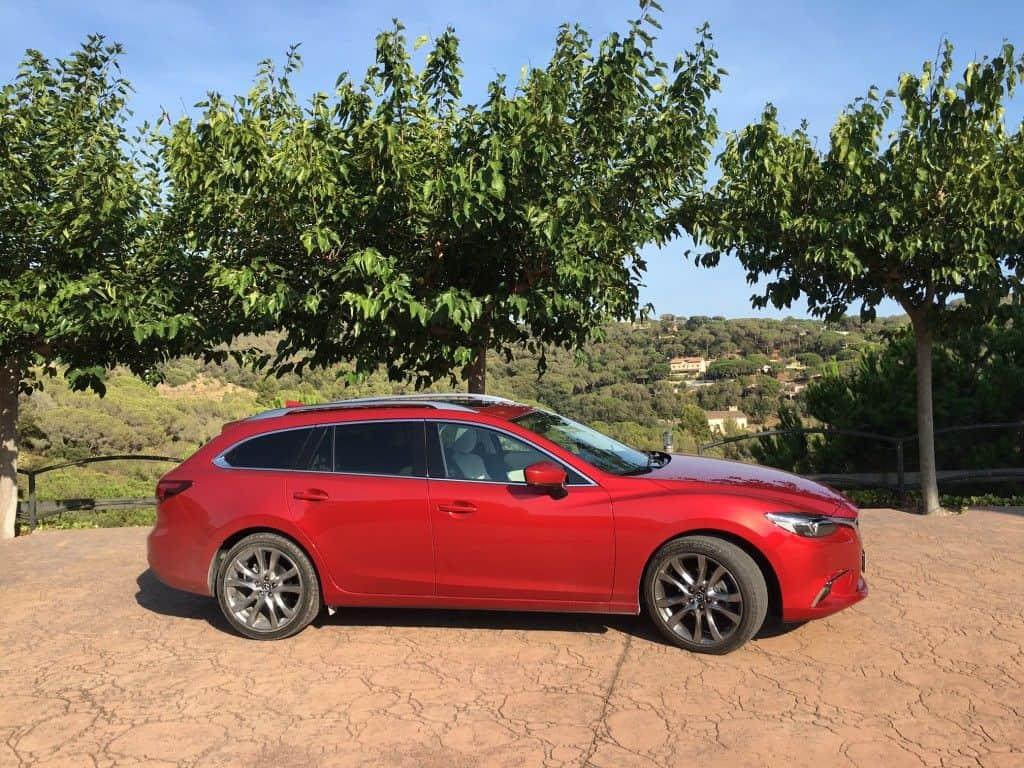 Mazda6 Seitenansicht
