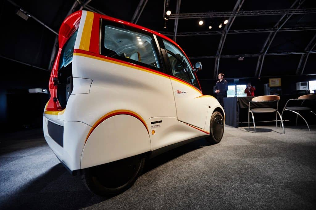 Shell Concept Car at Millbrook Proving Ground October 2016. Credit: Ed Robinson