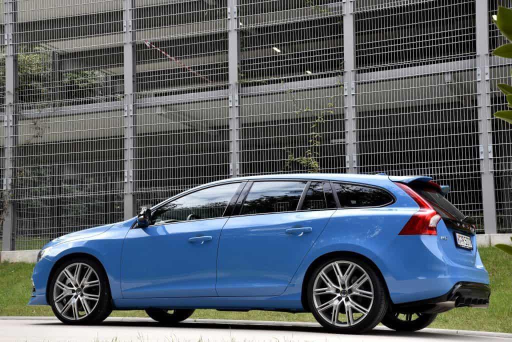Volvo V60 Polestar Seitenansicht