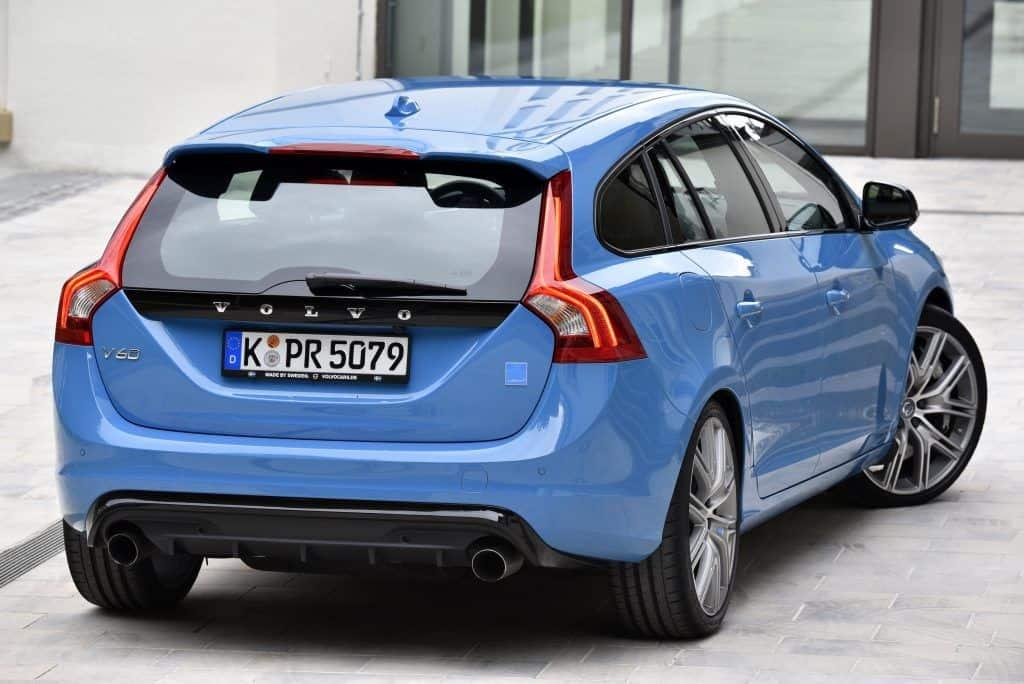 Volvo V60 Polestar Heck