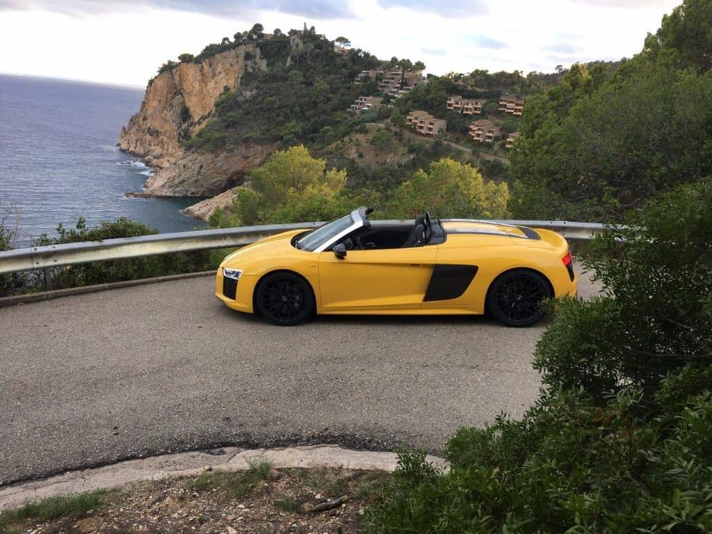 Audi R8 Spyder Seitenansicht