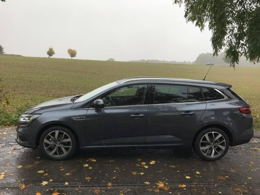 Renault Megane Grandtour Seitenansicht