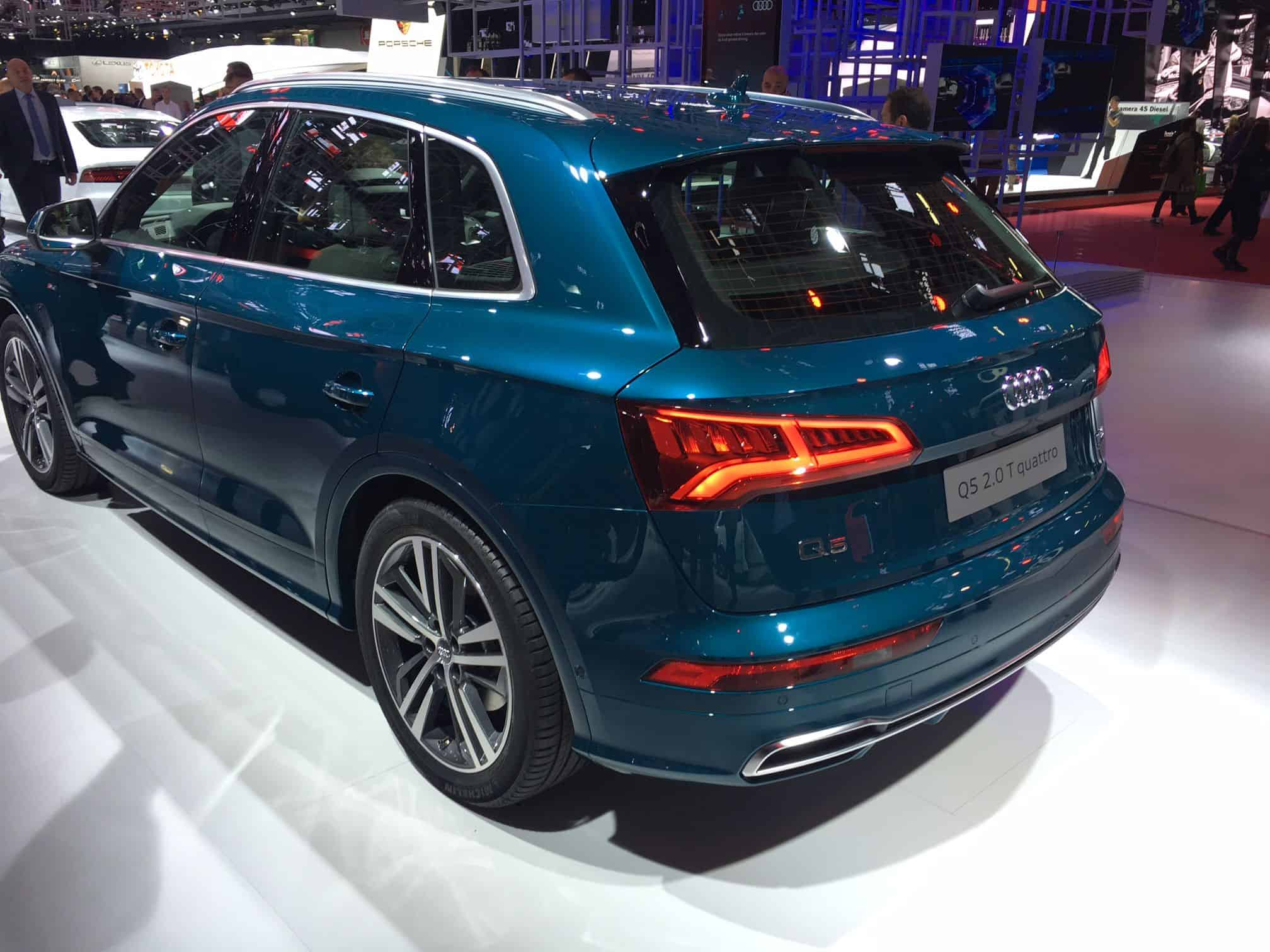 Neuer Audi Q5 kommt Anfang 2017 | Der-Autotester.de on