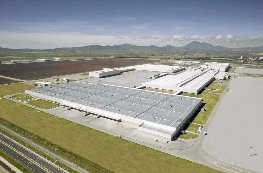 Audi-Werk im mexikanischen San José Chiapa