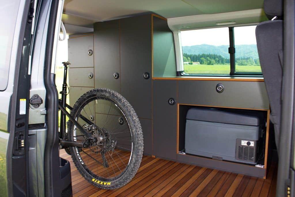 VW T6 Exploryx Bike & Sleep