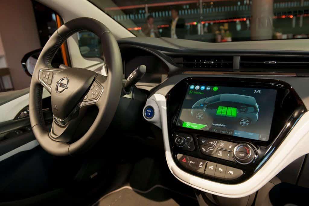 Opel Ampera-e Innenraum
