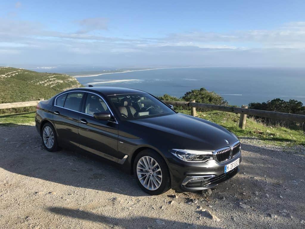 BMW 530d Seitenansicht