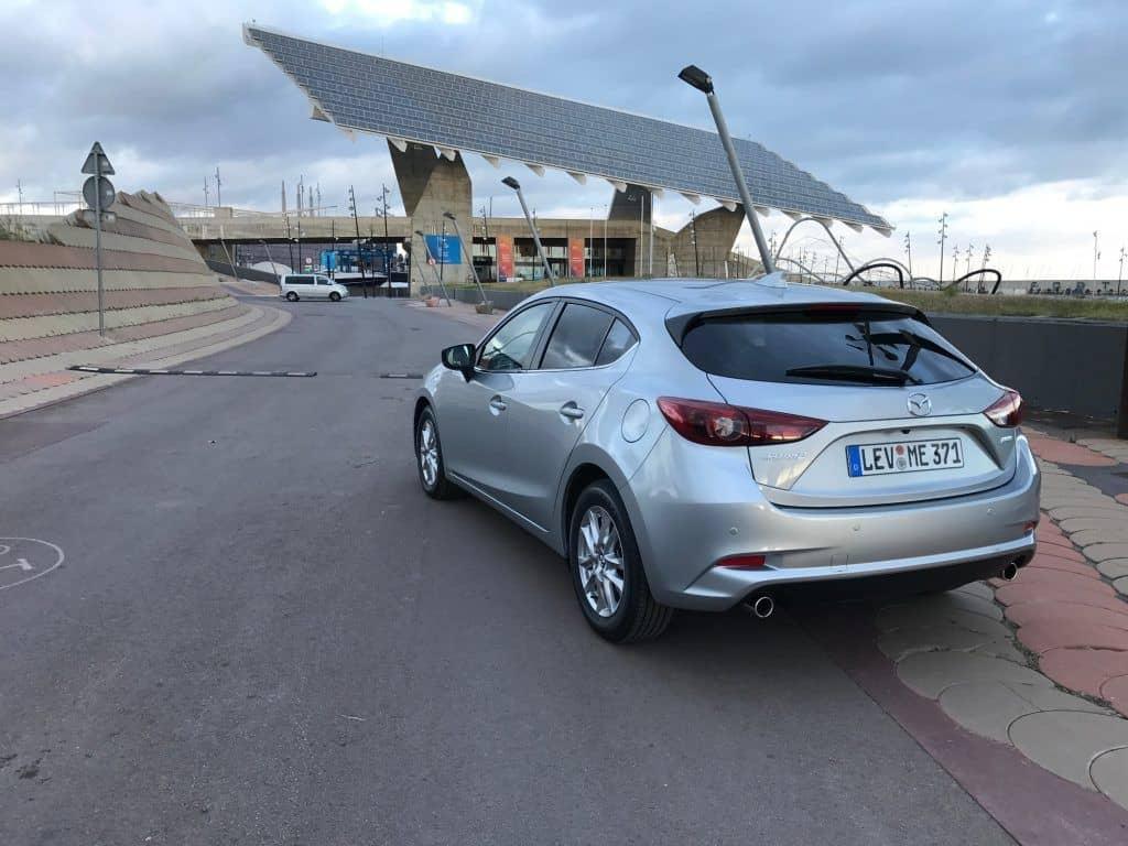 Mazda3 Heck