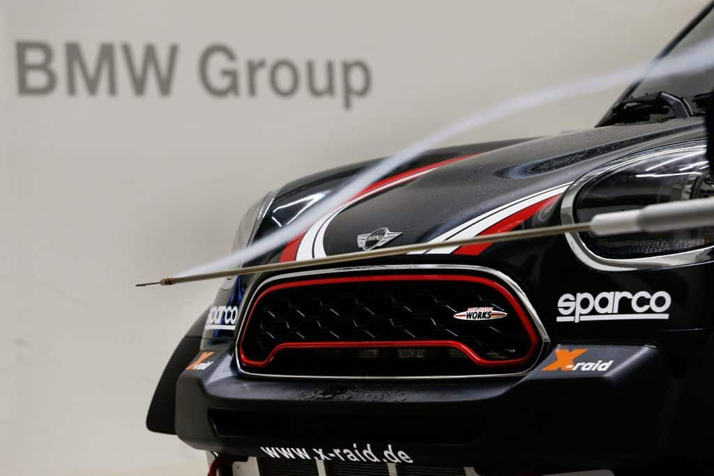 Munich (DE) 03th November 2016. BMW Motorsport, MINI Dakar in the BMW Group wind tunnel.