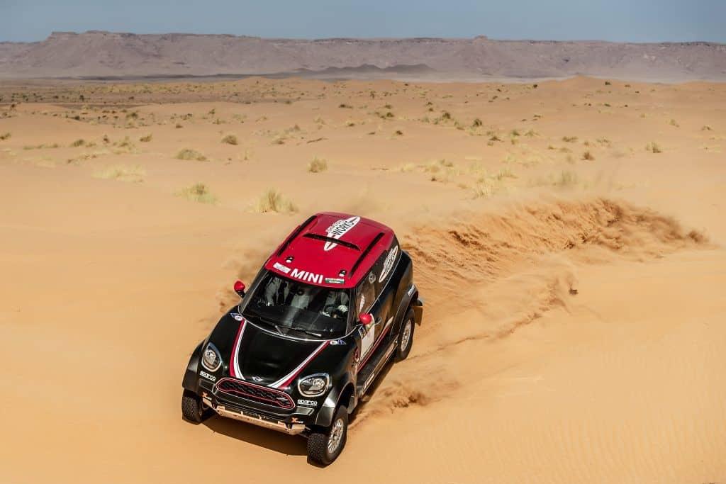 MINI John Cooper Works Rally Wüste