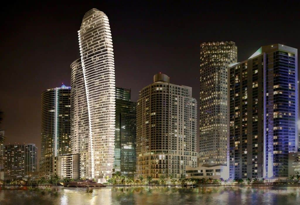 Aston Martin Building in Miami